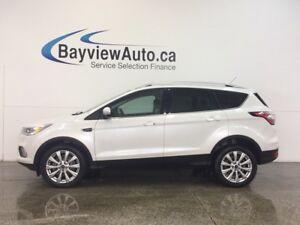 2017 Ford ESCAPE TITANIUM- ECOBOOST|REM STRT|ROOF|LTHR|NAV|SONY!