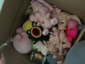 Large box of pig things!
