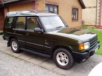 LAND ROVER DISCOVERY TDI SEVEN SEATER