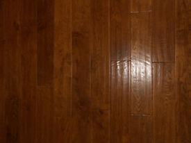Solid oak flooring (NEW PACKS).