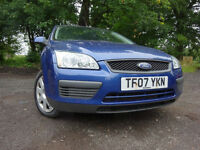 07 FORD FOCUS 1.6 LX,MOT JUNE 018,1 OWNER FROM NEW,PART SERVICE HISTORY,2 KEYS,LOVELY EXAMPLE