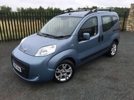 2010 10 FIAT QUBO 1.3 DYNAMIC - *SEMI AUTOMATIC, DIESEL* - DISABILITY WHEELCHAIR/SCOOTER CARRIER!