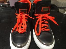 Philipp Plein hi-top trainers reduced to £40for quick sale