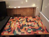 Small desk - colourful