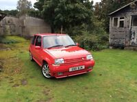 *RARE* Renault 5 GT Turbo Phase 2