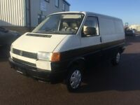 LEFT HAND DRIVE VOLKSWAGEN TRANSPORTER, DRIVES WELL,GOOD LOAD SPACE,ENGINE & MECHANICS,PAPERS SORTED