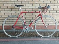 LIGHTWEIGHT BIANCHI ROAD / RACING BIKE CAMPAGNOLO GEARS AND BRAKES 56CM FRAME