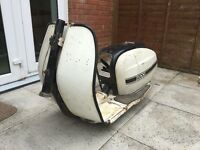 Lambretta SX200 frame and bodywork