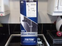 "TRITON MIXER SHOWER TAP AND SHOWER FITTING ""NEW"" IN BOX"