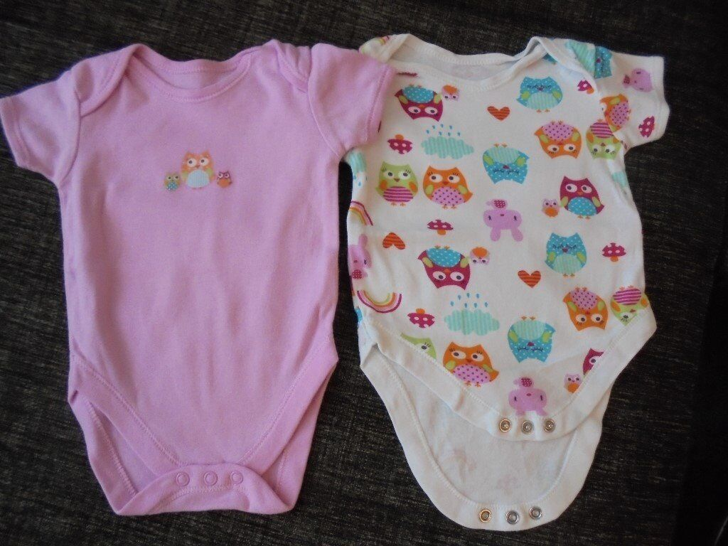 Baby vests 0 3 monthsin York, North YorkshireGumtree - 2 x cute baby girl vests, in used but excellent condition. Super cute. 0 3 months. Collection Clifton Moor, York Please see other items