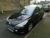 2006 PEUGEOT 307 SW 1.6 HDI ESTATE 70MPG LOW MILEAGE TOWBAR
