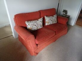 Lovely Laura Ashley settee with slight wear on cushions.