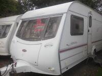 coachman amara 4 berth fixed bed