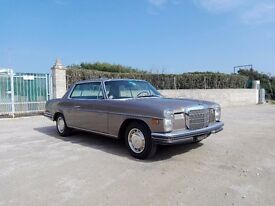 Great example of a classic Mercedes Benz 250 CE coupe manual from 1971