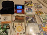 red 3ds console with 13 games look bargain