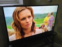 Panasonic 42in Led Lcd Viera TX-42A400B Full HD 1080p USB HDMI Freeview Tv With Remote Base Leg