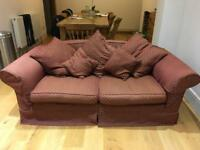 3 seater Laura Ashley sofa