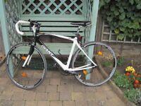 road bike GIANT SCRC4 BLACK/WHITE- CARBON FIBRE FRAME- GENDER MALE -FRAME M/L