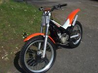 Beta 80cc Big Wheel Trials Bike