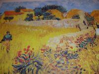 LARGE Poster of Vincent Van Gogh's 'Ferme en Provence'.