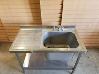 Heavy Duty Kitchen Sink with Bay, Great Quality. Cheapest Available on Market and Gumtree.