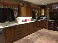Complete Chestnut Kitchen