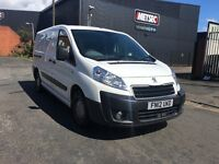 PEUGEOT EXPERT LWB 1.6 HDI 2012 12 MONTHS MOT FULL SERVICE HISTORY 1 OWNER FROM NEW AMAZING VAN