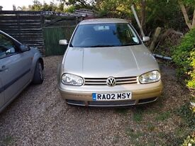GOLF GTI 2LITRE MOT UNTIL NOV2017 FULL SERVICE HISTORY - £1175 ono