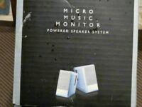 BOSE MICRO MUSIC MONITOR POWERED SPEAKER SYSTEM