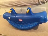 Little Tikes Blue Whale SeeSaw