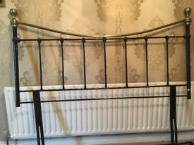 Brass style bedstead