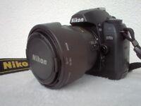 Nikon D70s + 18 - 70 lens