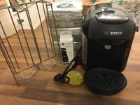 Bosch Vivy Tassimo Machine with accessories and T discs