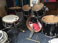 Drum kit - moving and no space for them