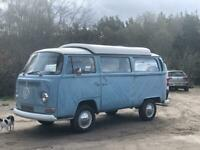 1970 VW Volkswagen Camper Early Type 2 rare crossover model with original interior