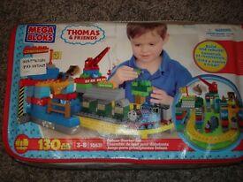 THOMAS THE TANK ENGINE MEGA BLOKS SET SIMILAR TO LEGO DUPLO