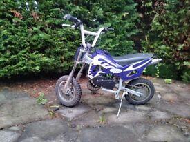 Mini dirt bike, pit bike, scrambler, auto not yx, yz