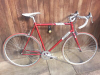 Genesis Flyer Track Frame & Forks - winter bike, Audax, Track Bike, Fixie, Eroica, Pub Bike, project