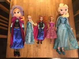 A Selection of Disney Store Dolls