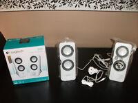 Logitech Z200 Multimedia Speakers.