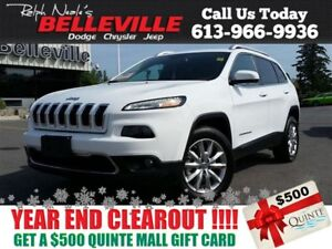 2016 Jeep Cherokee Limited-Remote Start-GPS Navigation Only $99