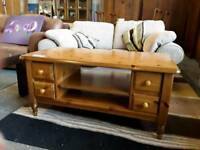Pine Rectangular Coffee Table Or Tv Stand. Del Available
