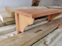 Pine shelf