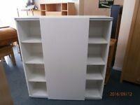 Ikea Besta Sliding Door Cupboard/Bookcase/ Storage.
