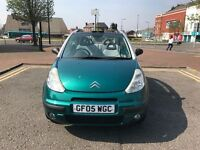 2005 CITROEN C3 PLURIEL 1.4 75 CONVERTIBLE 55K , 2 LADY OWNERS ** GREAT PROJECT FOR LOVELY SUMMER *