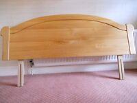 Headboard - wooden, for double or kingsize