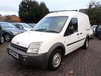 TRANSIT CONNECT LWB HIGH TOP 2005 WHITE 12 MONTH MOT