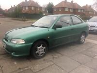Automatic Hyundai 1.3i accent very low mileage mot'd