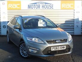 Ford Mondeo ZETEC BUSINESS EDITION (TDCI) FREE MOT'S AS LONG AS YOU OWN THE CAR!!! (silver) 2013