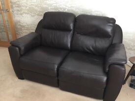 Italia Living 2 Seater Elecrtric Reclining Sofa.